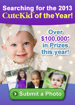 We're Searching for the CuteKid of the Year. $100,000 in Prizes. Enter a Photo